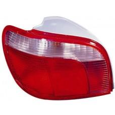 фонарь задний внешний левый (k-тип) красн-бел для TOYOTA YARIS с 1999 по 2002