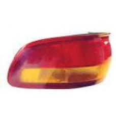 фонарь задний внешний правый (usa) красн-желтый для TOYOTA PREVIA с 1991 по 1997