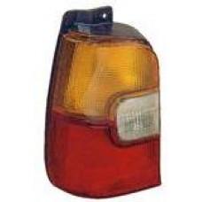 фонарь задний внешний л+п (комплект) тюнинг прозрач (lexus тип) внутри (4 дв) для TOYOTA COROLLA EE101 с 1992 по 1997