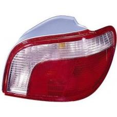 фонарь задний внешний правый (k-тип) красн-бел для TOYOTA YARIS с 1999 по 2002