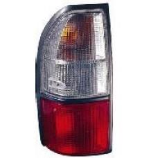 фонарь задний внешний левый красн-бел для TOYOTA LANDCRUISER PRADO 90 с 2000 по 2002