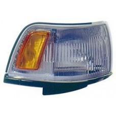 указатель поворота угловой правый бел-желтый для TOYOTA CAMRY V20 с 1987 по 1989