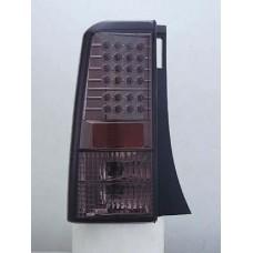 фонарь задний внешний л+п (комплект) тюнинг прозрач с диод (sonar) тонированный внутри хром для TOYOTA SCION XB с 2003 и далее