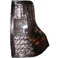 фонарь задний внешний л+п (комплект) тюнинг с диод (sonar) тонированный внутри хром для TOYOTA LANDCRUISER PRADO 150 с 2009 и далее
