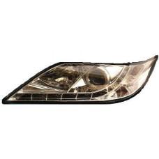 фара л+п (комплект) тюнинг (devil eyes) линзован с светящ ободк (sonar) внутри хром для TOYOTA CAMRY с 2006 по 2008