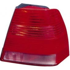 фонарь задний внешний правый (depo) красн-бел для VOLKSWAGEN BORA с 1998 и далее