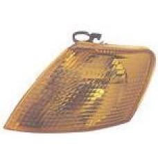 указатель поворота угловой левый желтый для VOLKSWAGEN PASSAT B5 с 1997 по 2000