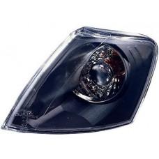 указатель поворота угловой л+п (комплект) тюнинг прозрач внутри черный для VOLKSWAGEN PASSAT B5 с 1997 по 2000