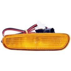 фонарь-катафот правый в бампер желтый для VOLVO V40 с 1996 по 2000
