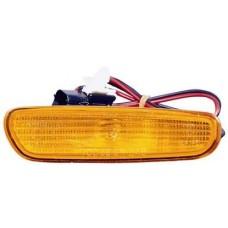 фонарь-катафот левый в бампер желтый для VOLVO V40 с 2001 по 2003
