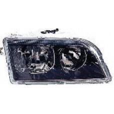 фара правая п/корректор внутри черная для VOLVO V40 с 2001 по 2003
