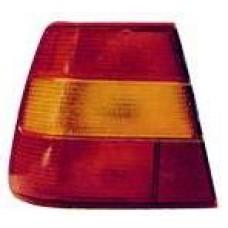 фонарь задний внешний левый желтый для VOLVO S90 с 1991 по 1997